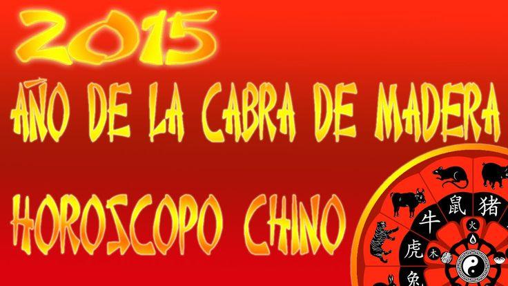 Horóscopo Chino 2015, Año de la Cabra de Madera