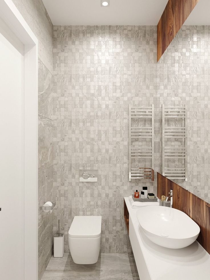 Marble chequered bathroom elegant basin simple and modern