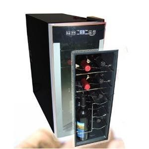 Avanti, A 12 Bottle Wine Cooler OB (Catalog Category: Kitchen & Housewares / Fridges & Vending Machines) by Avanti. $152.09. Avanti, A 12 Bottle Wine Cooler OB (Catalog Category: Kitchen & Housewares / Fridges & Vending Machines) Avanti EWC1201 Counter-top Wine Cooler (overboxed).. Thermoelectric cooling system Curved glass door for a modern and stylish look Classic black cabinet with platinum finished accents compliment any decor Compact and lightweight design Integrat...