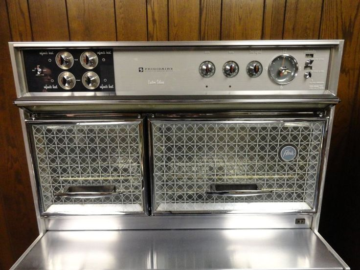 Vintage Frigidaire Custom Deluxe Stove Amp Double Oven By Gm
