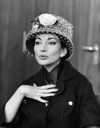 Portrait of Maria Callas, Stuttgart, 1959