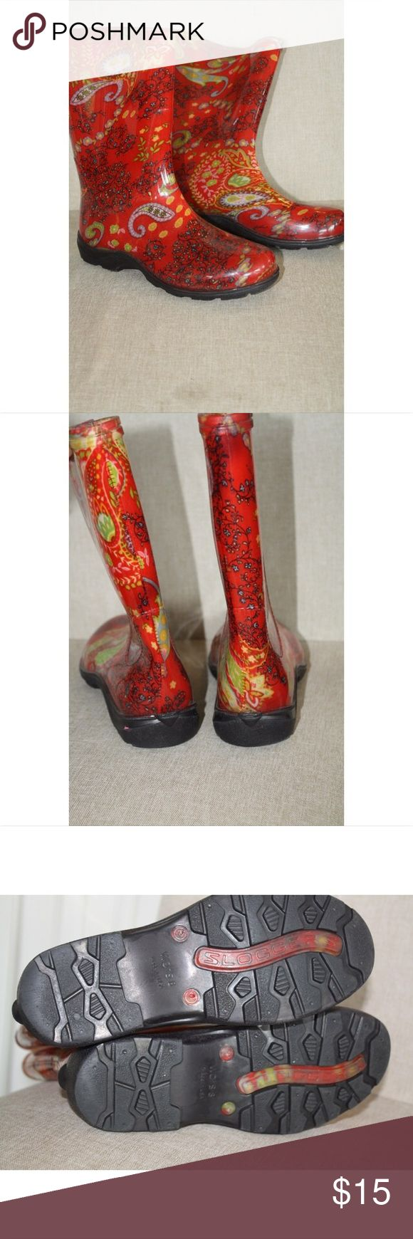 Sloggers rain boots Gently used. Great shoe unfortuablty do not fit me anymore sloggers Shoes Winter & Rain Boots