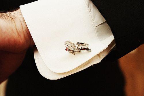 Star Trek Enterprise cufflinks #wedding