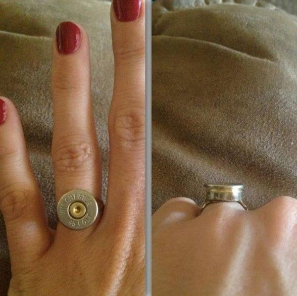 Colt Bullet Ring