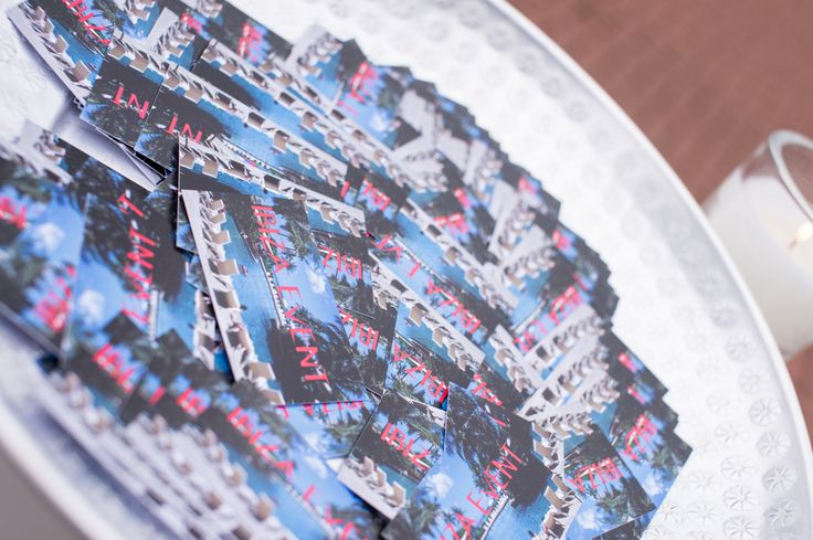Ibiza event - summer party - cards - event planner - Moedevents
