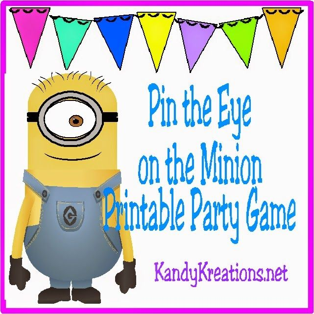 17 Best Ideas About Minion Party Games On Pinterest