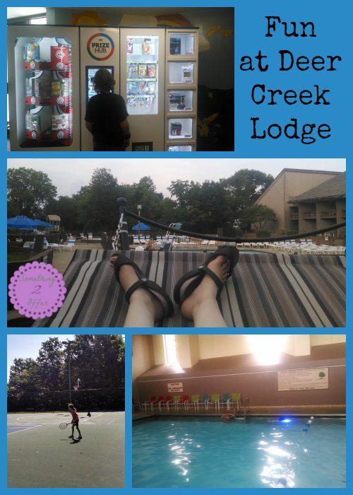 Family Vacation Fun at Deer Creek Lodge  Ohio State Parks Lodge