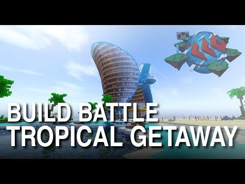 awesome Wonderful tropical resort in 'Minecraft' makes us want we had been digital dice folks