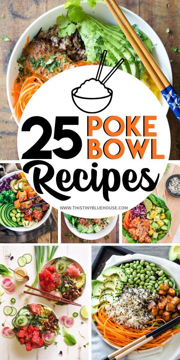 25 Scrumptious Straightforward Poke Bowls