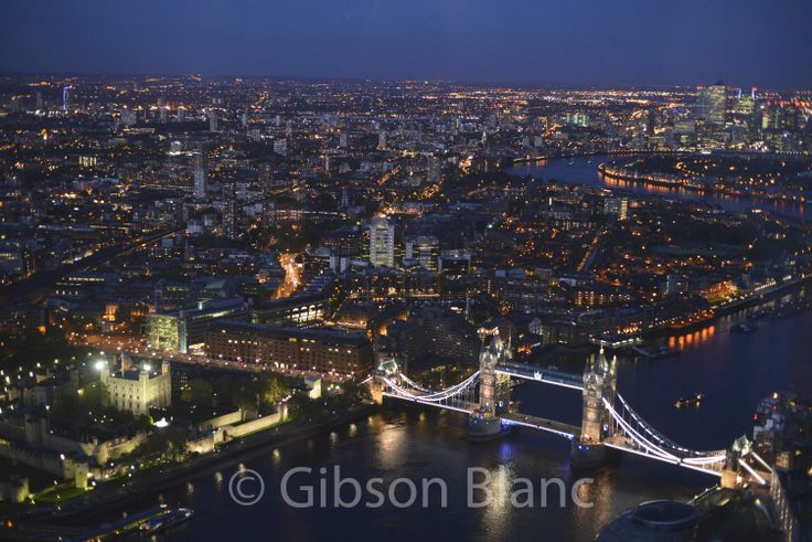 Tower Bridge from the shard...© Gibson Blanc