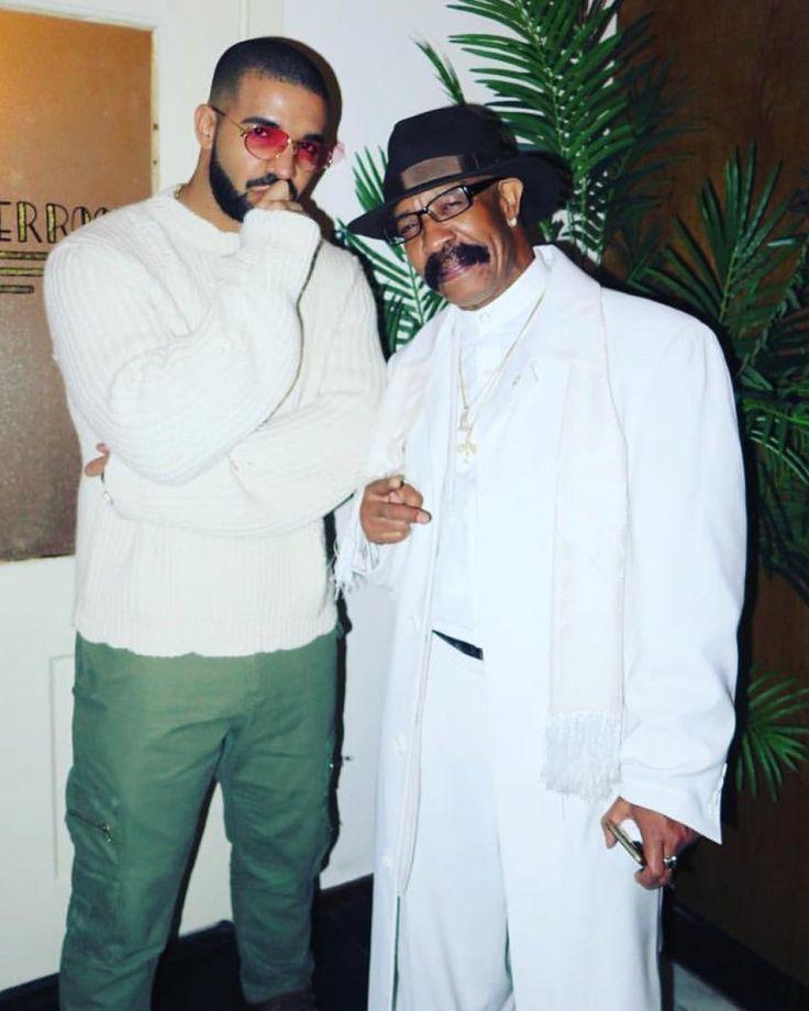 Drake et son père !   @champagnepapi #Drake #Father #Dreezy