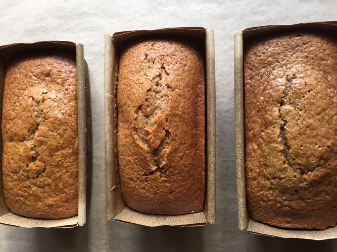 Pumpkin & Cranberry Bread.  Big Batch Recipe