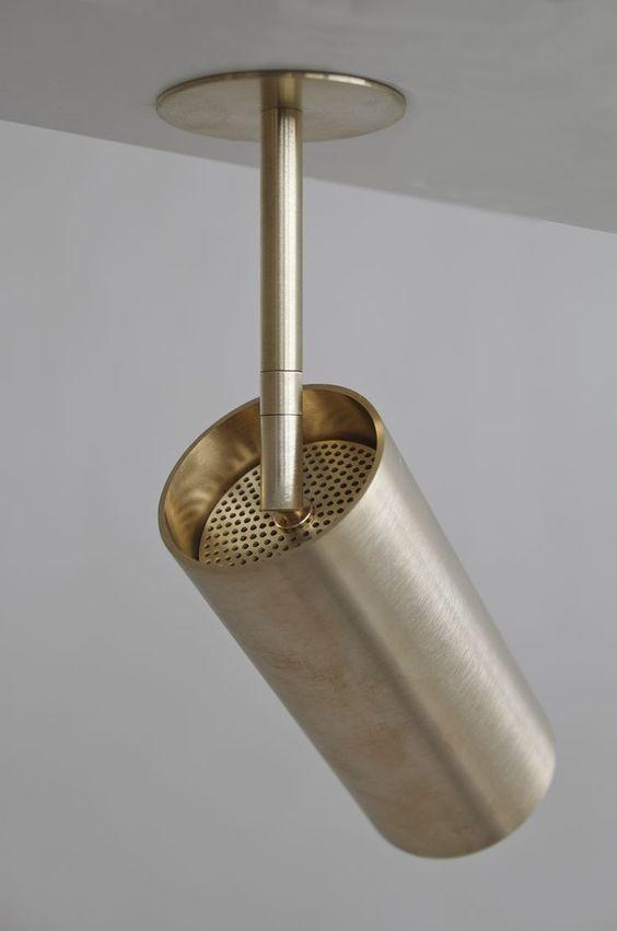 Brass Spot Lighting Track Lighting Ceiling Lighting