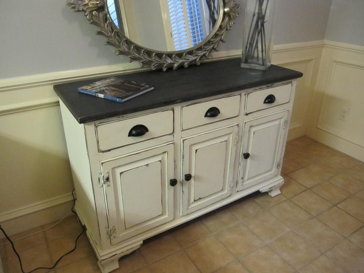 Superior Ethan Allen Buffet · Furniture RefinishingPainted ...