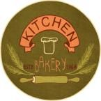 Kings Court Kitchen Bakery Green 4 ft. 3 in. x 4 ft. 3 in. Round Kitchen Area Rug