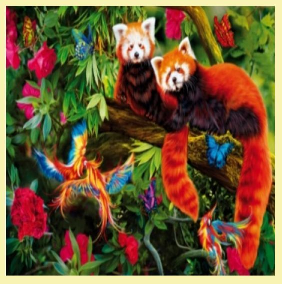 For Everything Genealogy - Red Pandas Animal Themed Maxi Wooden Jigsaw Puzzle 250 Pieces, $65.00 (http://www.foreverythinggenealogy.com.au/red-pandas-animal-themed-maxi-wooden-jigsaw-puzzle-250-pieces/)