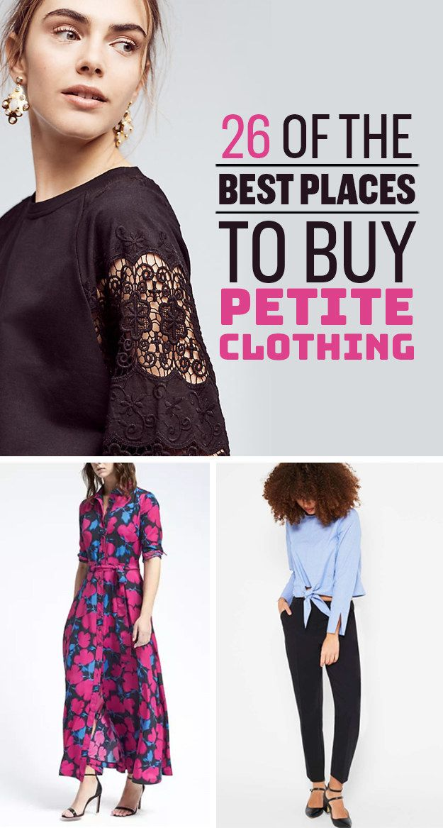 26 Of The Best Clothing Stores For Short Girls #petite