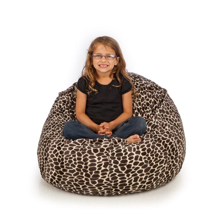 Our Animal Fur Bean Bag Chairs Are Available In 7 Different Patterns Faux Beanbags Come With A Fully Removable Cover That Is Washable