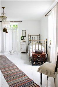 Sovrum i lantlig stil