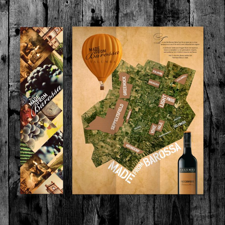 Showpony Advertising - Yalumba- Patchwork
