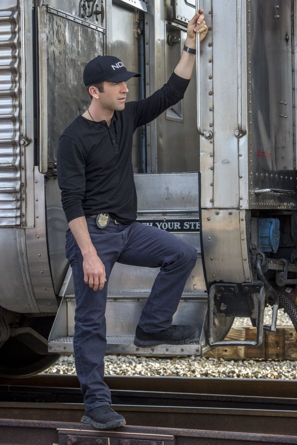 Lucas Black as Christopher LaSalle on NCIS: New Orleans.