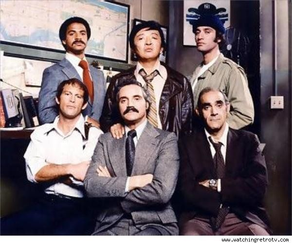 """""""Barney Miller"""" - 1st and 2nd Season cast"""