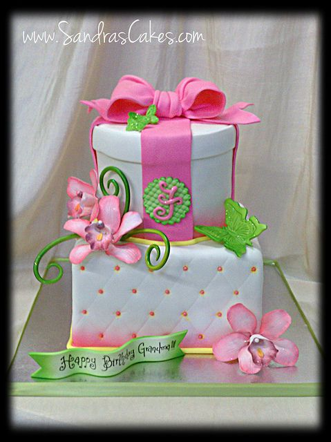 Best Birthday Cakes Images On Pinterest Birthday Ideas - Birthday cakes 70th ladies