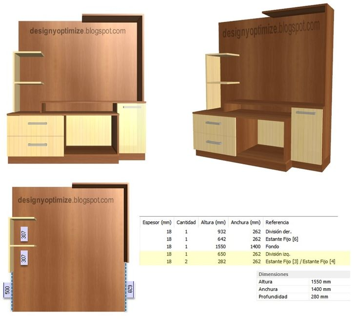 45 best diseño d' muebles con melanina g.d.m. images on pinterest ... - Programas Diseno Muebles