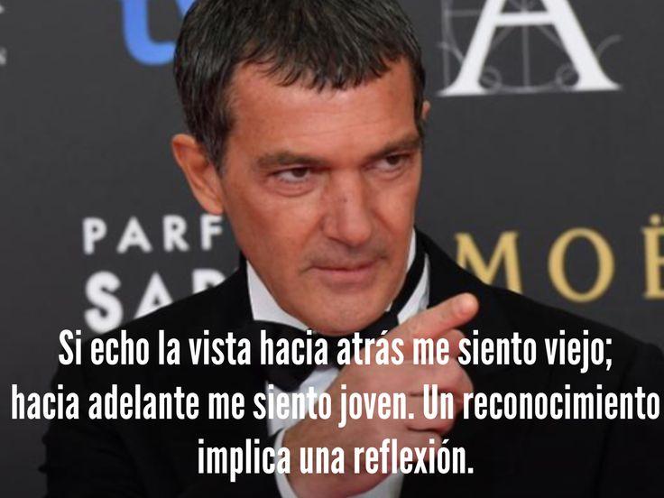 Antonio Banderas. Glamour España.