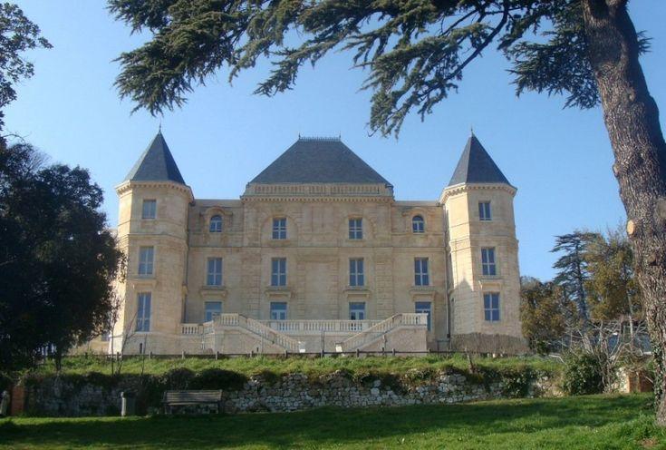 Château de la Buzine après restauration.