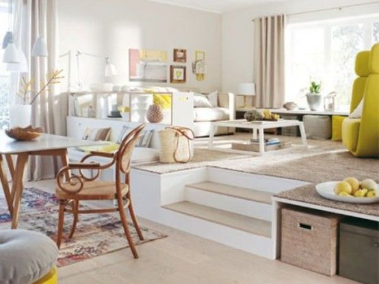 32 Awesome Ideas To Use Raised Platforms In Interiors