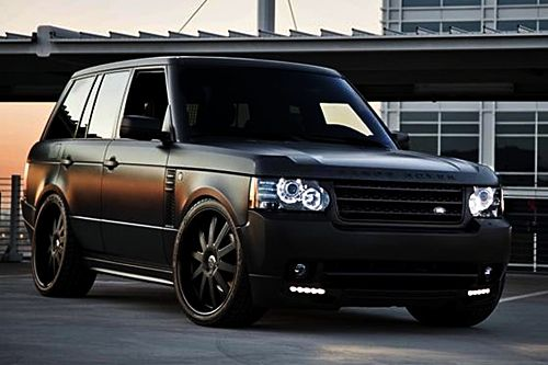 Range Rover.., I am not a vehicle person as far as having to have any certain one but..... I would not mind having one of these =)