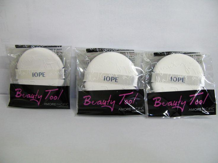 IOPE Make Up Puff 3PCS Air Cushion BB Cream Foundation Versatile puff  #IOPE