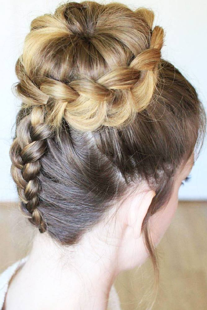 cute hair cut styles 21 braids ideas updo updo and 8489 | c94b8598ad33fcfe93d9dff9bd3823b5 volleyball hairstyles dance hairstyles