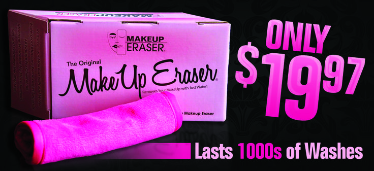 Makeup Eraser. This is an AMAZING product. Removes your makeup, even waterproof mascara with nothing more than water. I can't live without this product. A MUST try!!