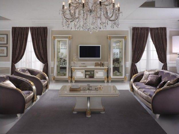 Raffinato salotto in stile classico
