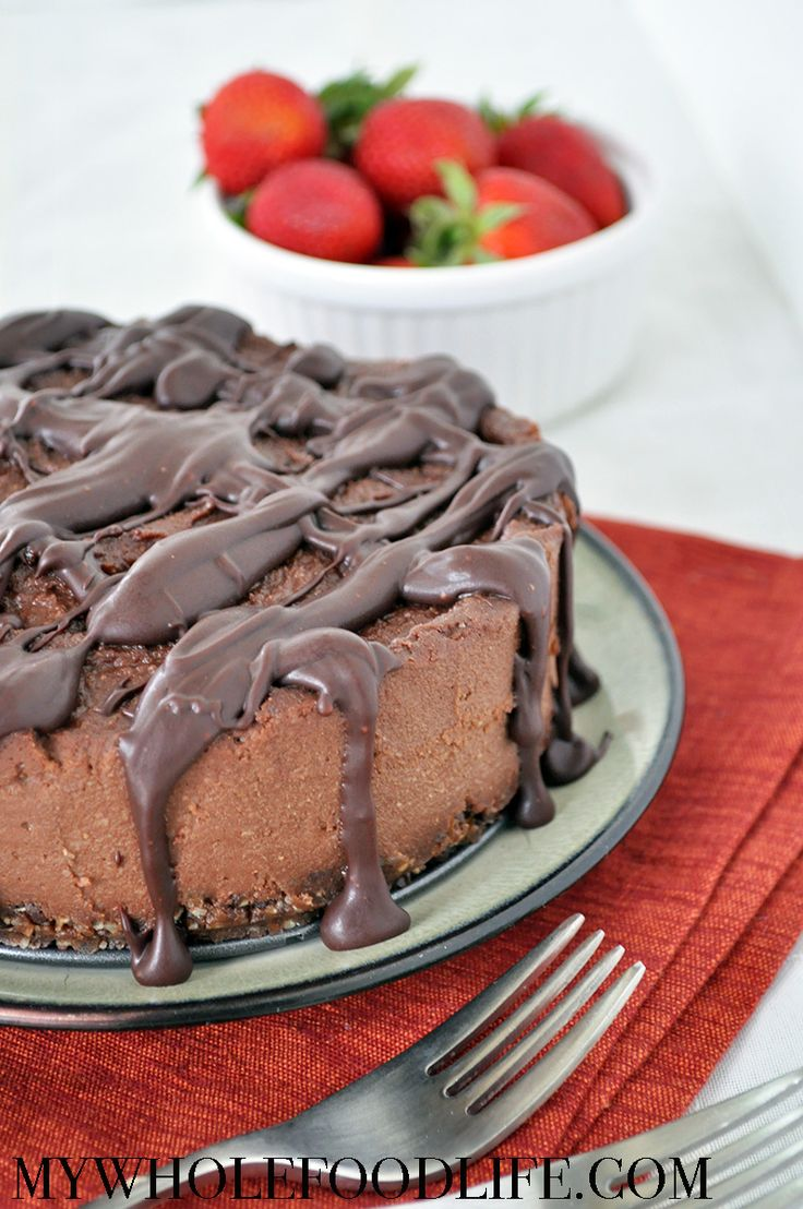 Chocolate Coffee Cheesecake FoodBlogs.com