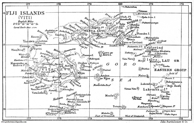 Fiji map black and white for Fiji coloring pages