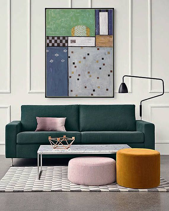 Extra Large wall art, Abstract painting, Contemporary Art, Hand made Wall Art, Geometric painting, paintings on canvas, large canvas art Art