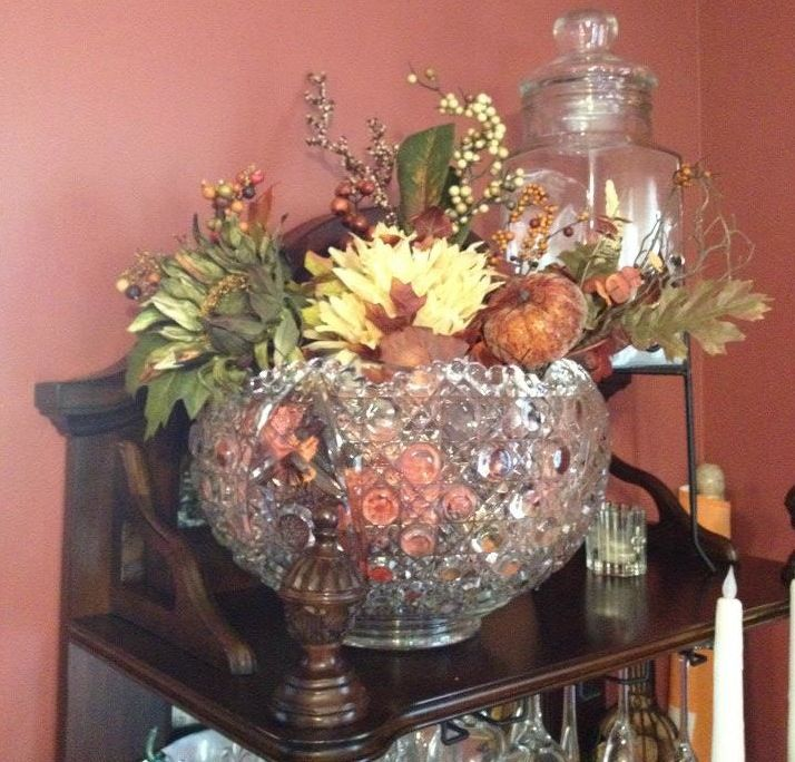 8 best Punch Bowls as Decorations images on Pinterest ...