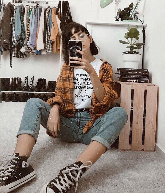 Folgen Sie ALTGirl Alternative Style Grunge-Stil Gothic-Stil Grunge-Mädchen Grunge-Outfits Alternative Girl Alternative Outfits Altgirl Aesthetic Clothing …