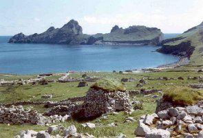 Les Îles St Kilda en Écosse