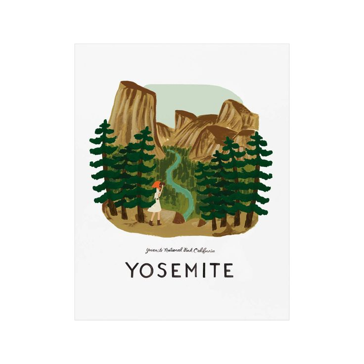Oh, Sweet Yosemite Art Print