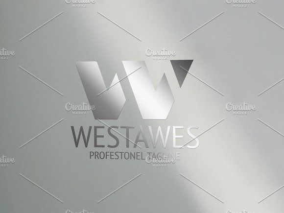 W Letter by eSSeGraphic on @creativemarket