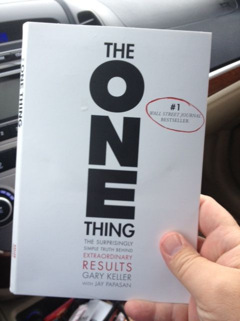 Just got The One Thing by Gary Keller and Jay Papasan on audio.  We spend too much time in our cars not to be productive!Jay Papasan, Richmond Hills, Gary Keller, Time In