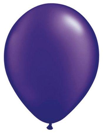 Parel paars Qualatex ballonnen  Qualatex ballonnen parel paars. Top kwaliteit ballonnen van het merk Qualatex. Paarse ballonnen met een lichte parel glans. Worden geleverd per 100 stuks. Grote ongeveer 27 cm.  EUR 39.95  Meer informatie
