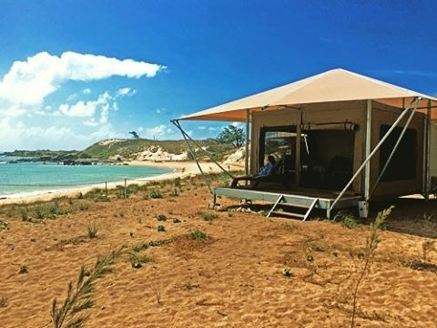 This week, we're bringing you our top five tents in #Australia—we're talking bell, safari and everything in between. 🙌 #5: This #safari #tent on Bremer Island.  #GlampingHub #Glamping #Getaway #SafariTent #Australia #Instagood #Travel #Getaway