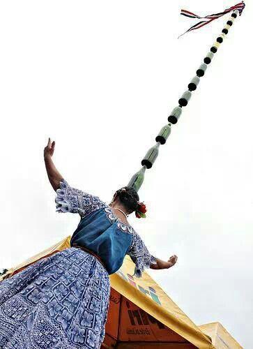 Danza de la botella..Paraguay