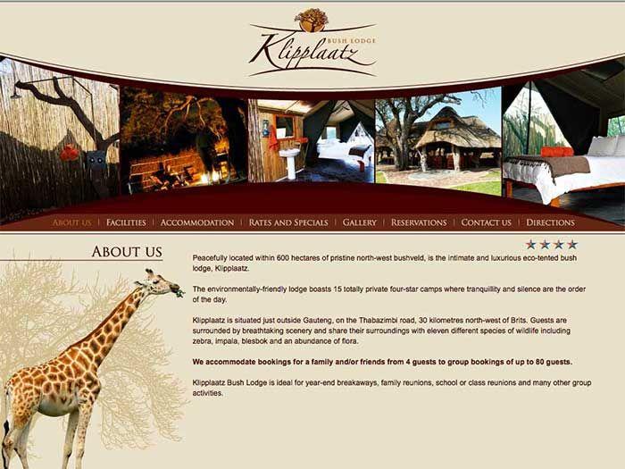 Klipplaatz Website