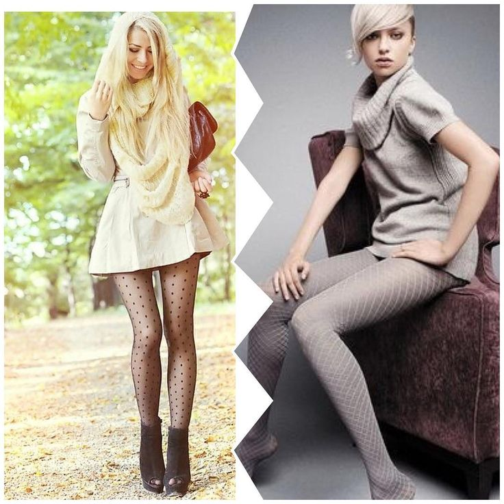 """102 Likes, 2 Comments - Charles Martin Niefen (@charlymnf)…""""  I love both looks. This is the only way2wearmyOSoshortDressesWith The Cutest tights, stockings 2 me The sexiest look So hot"""